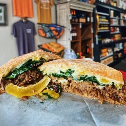 """Porchetta """"Pete"""" Sandwich"""