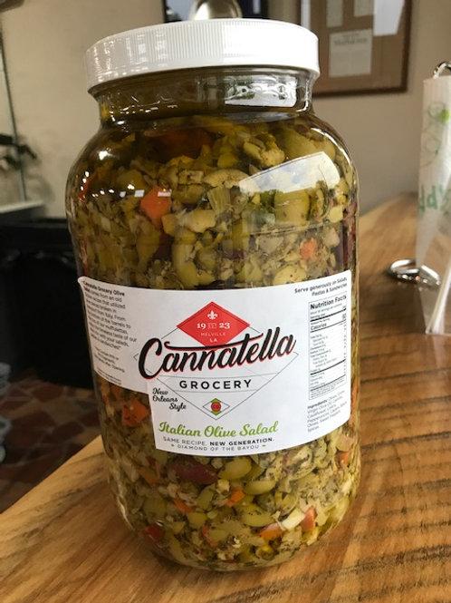 Cannatella Grocery Italian Olive Salad Mix -Gallon