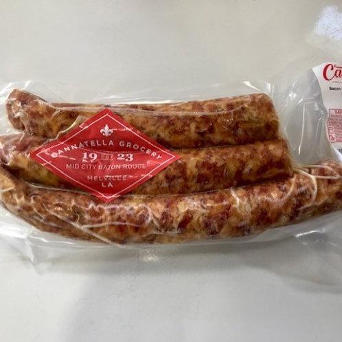 Bacon Jalapeno Cheese Smoked Sausage (price per pound)