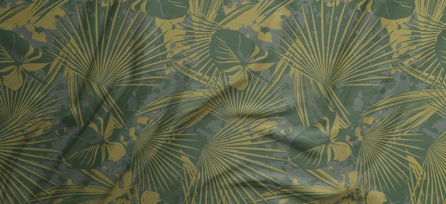 GERRY camo palm print