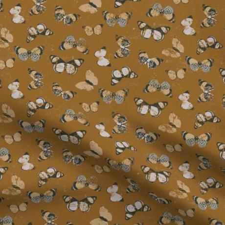 Flutter print fabric