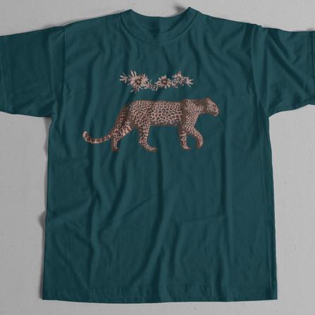 leopard graphic