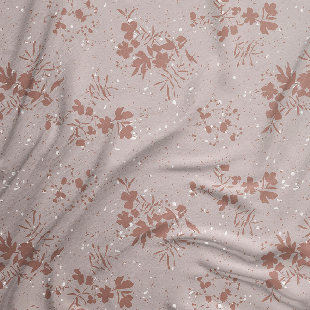 Terra floral in taupe