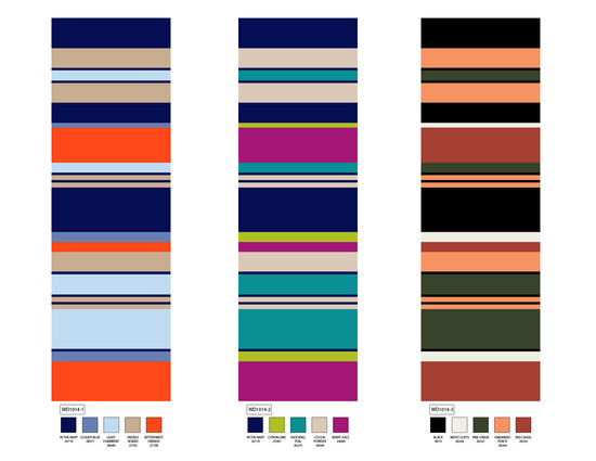 varigated stripe jersey colorways