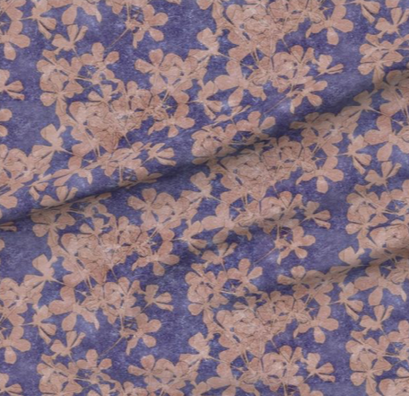 Cherry Blossoms print fabric