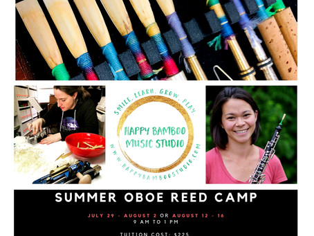 Summer Oboe Reed Camp