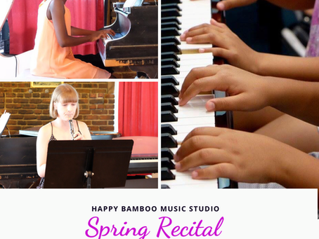 Upcoming Spring Recital