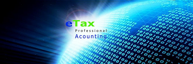 eTax Professional Accounting  webpage