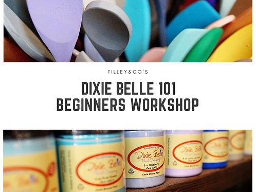 Dixie Belle Beginners Workshop