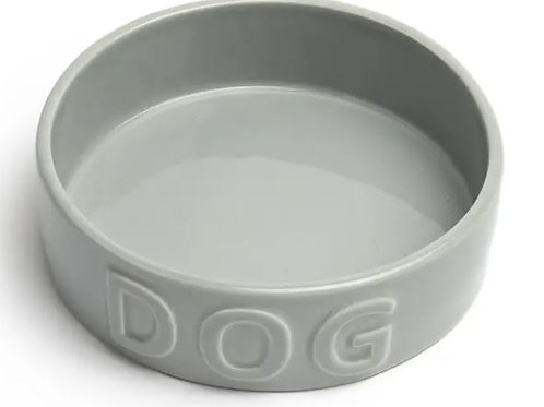 Classic Dog Gray Pet Bowl