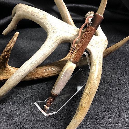 Lever Action Deer Antler Pen