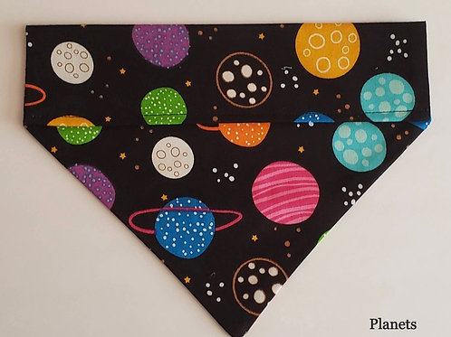 Snazzy Pooch Over the Collar Bandana - Large