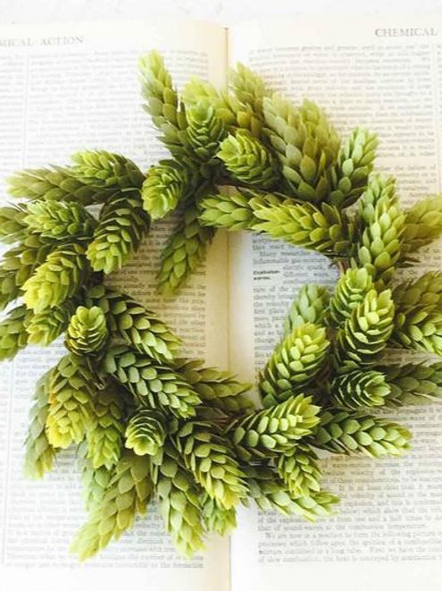 Green Hops Wreath