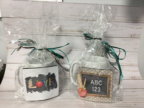 Teacher Mug & Coaster Gift Set