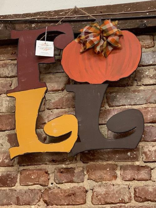 Fall Whimsical Door Hanger