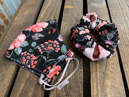 Cloth Mask & Scrunchie Set