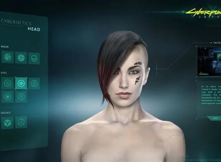 Genderfluid An Option In CyberPunk 2077 Character Creation