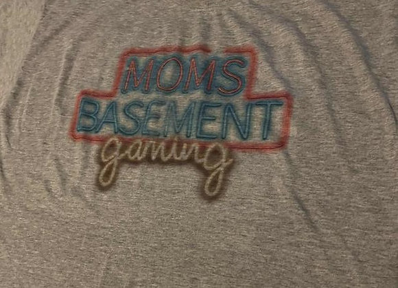 Moms Basement Gaming (Full Logo) T-Shirt