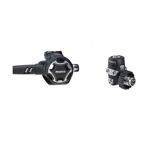 Ademautomaat/ SET Mares Dual Adjustable 52X din met octopus
