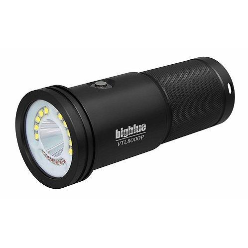 Duiklamp BigBlue VTL 8000p