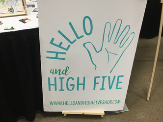Hello and High Five!