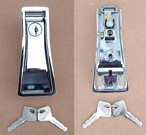 Maniglia in metallo cromato cofano baule A.R.duetto-spider 70-86 e GT-GTV