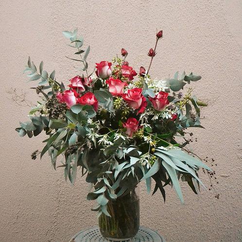 Buquê Rosas Vermelhas