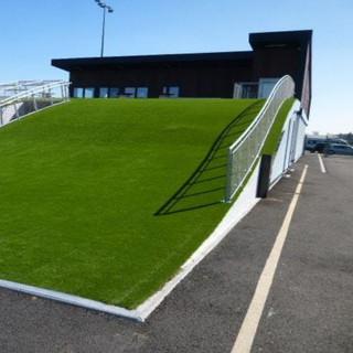 Construction d'un club house, vestiaires, bureau - Stade de football