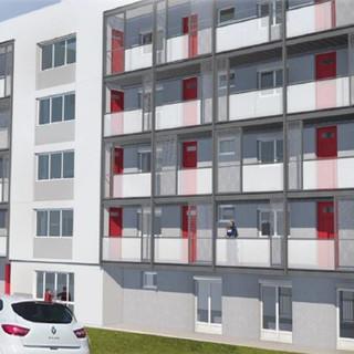 Réhabilitation 26 logements Résidence Doux Hiver