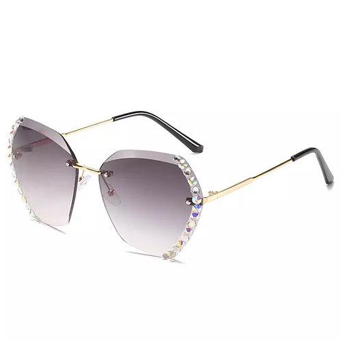 Back Lux Diamond Sun Glasses