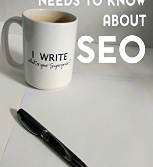 What Every Author Needs to Know About SEO - Out Now!