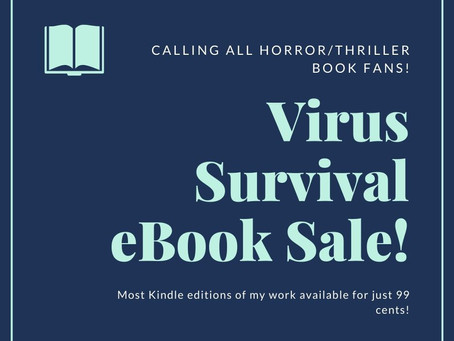 Virus Survival Sale! March 17 -24