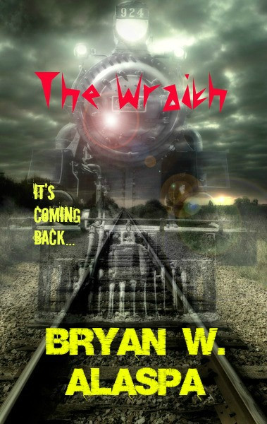 The Wraith horor novel cover