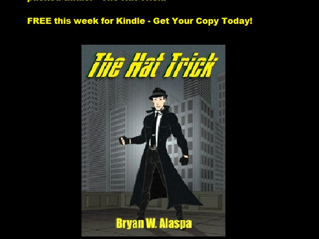 FREE for Kindle: There's a New Superhero in Town