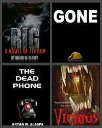 I'm Giving Away 4 Complete Horror Novels - Really