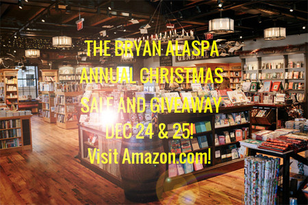 Annual Christmas Sale & Giveaway: Dec 24 & 25