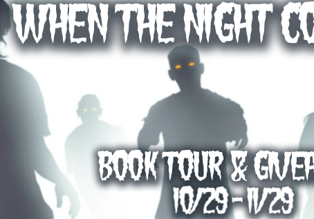When the Night Comes Out Blog Tour Dates