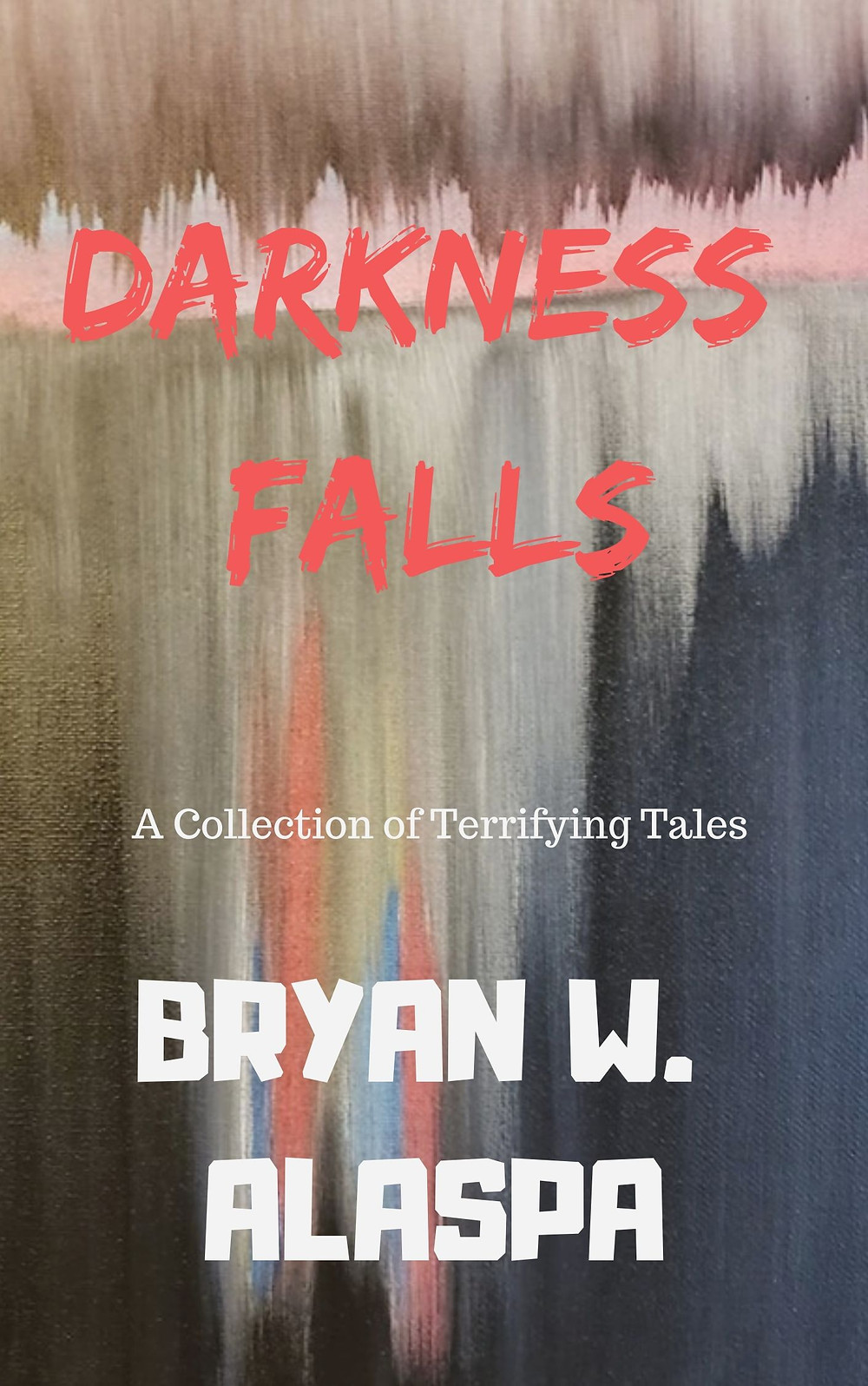 Darkness Falls horror story collection book cover