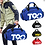 Thumbnail: T90 Duffle Backpack Mens Travel Sport Bags With Shoe Compartment