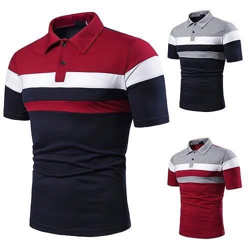 New Design Plain T Shirt Mesh Printed Men's Polo Shirts for Men