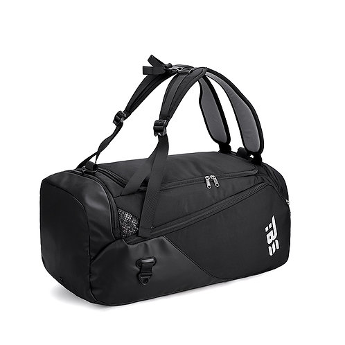 SANXDI Shoe Compartment Heavy Duty and Water Resistant Travel Duffel Backpack