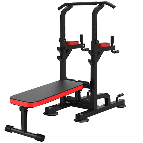 Power Tower Pull Up Bar Dip Station Adjustable Height Equipment Power Tower