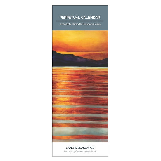 Perpetual Calendar - Land & Seascapes