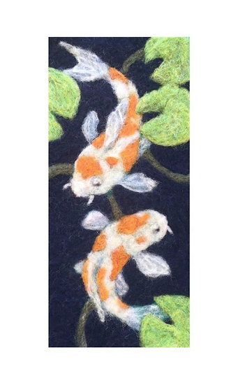 Needle Felting Kit - Koi Pond