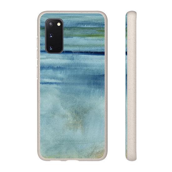 "Biodegradable Samsung phone case - Ocean Art - ""Prayer at Water's Edge"""
