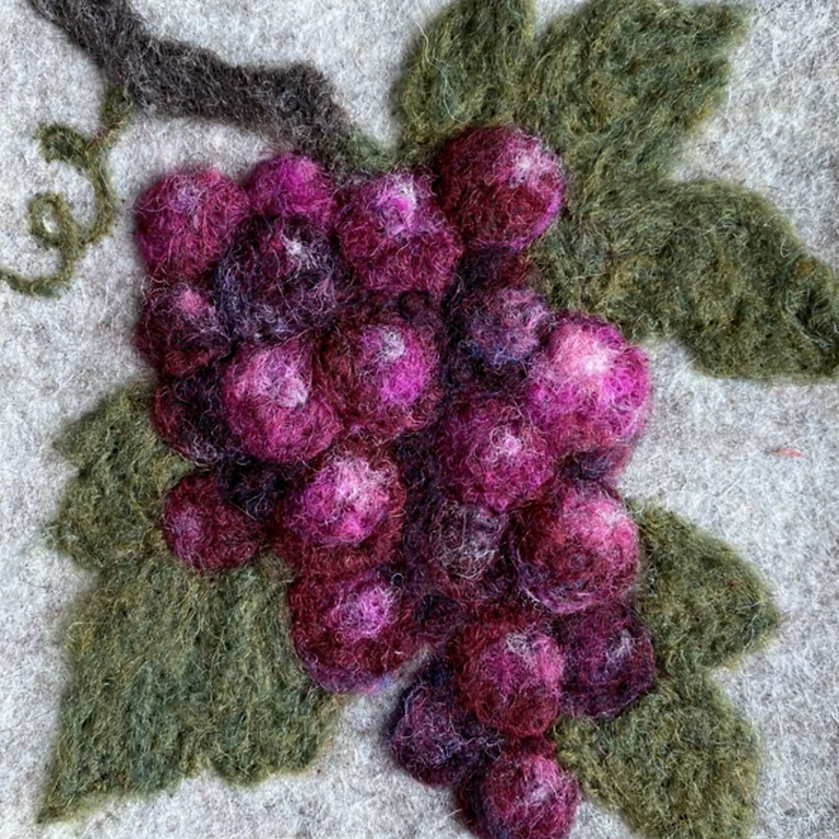 Painting with Wool 2 - Grapes (Fri, Sep. 24th)