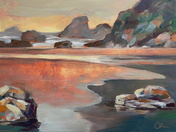 Camel Rock - Sunset SOLD