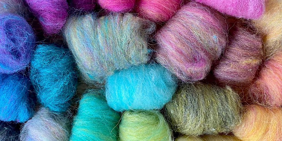 Color 1 - Basic Color Mixing for Needle Felting