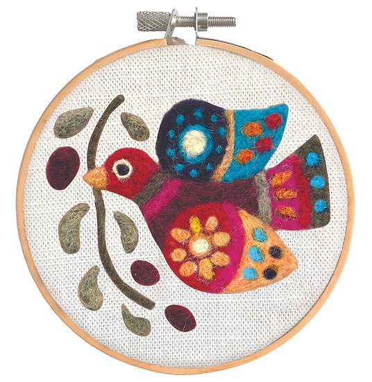 Needle Felting Kit – Peace On Earth Dove