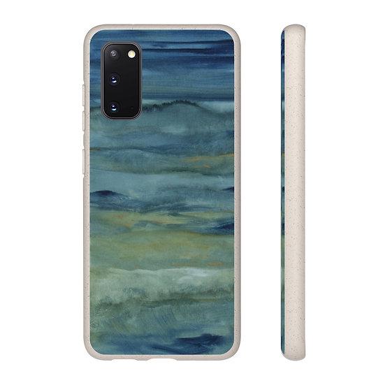 """Biodegradable Samsung phone case - Ocean Art - """"Deep Calls to Deep"""""""